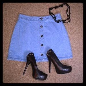 Jean Skirt 😊